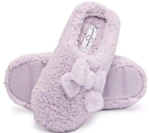 warm slippers for extra wide feet