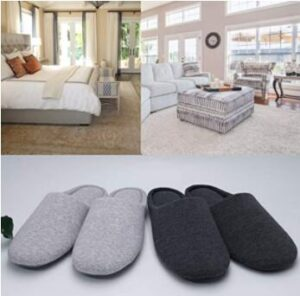 cotton material slippers