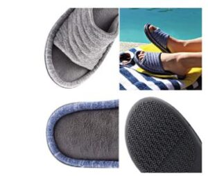 slided slippers for women with sweaty feet