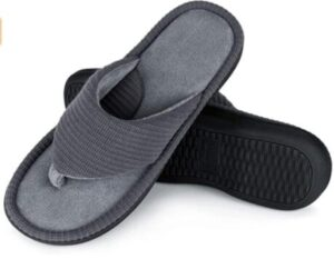 men's spa slippers