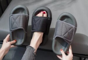 warm slippers for women with wide feet