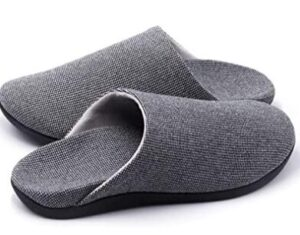 mens slippers with arch support