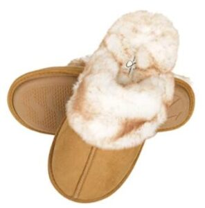 warm slippers with slip on design
