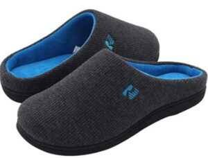 memory foam slippers for elderly men
