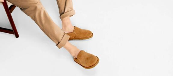 warm ugg slippers for wide feet