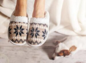 slip on slippers for elderly women
