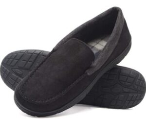 warm slippers for elderly person