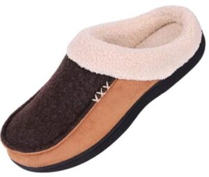 memory foam slippers for men with plantar fasciitis