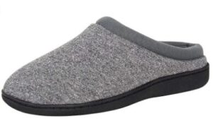 gray slippers for tile floors