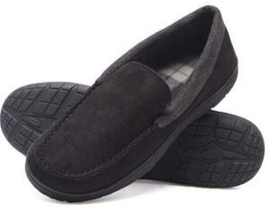 best leather material slippers for hot feet