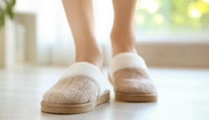 comfortable slippers for wooden floors