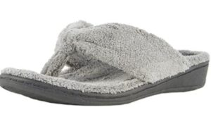 warm slipper sandals for arch support
