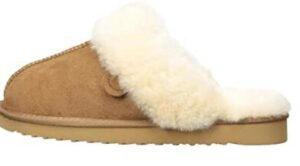 warm slippers with non-clog design