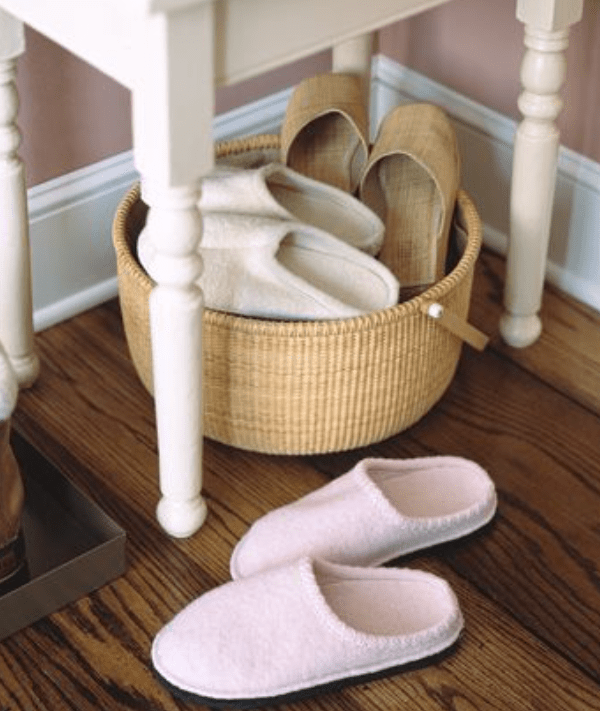 steps on how to clean slippers