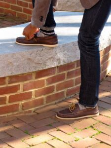 boat shoes with socks