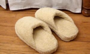 making slippers