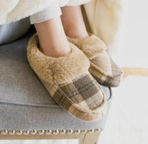 warm bootie slippers for winter