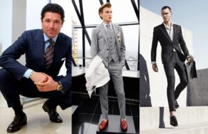 Quasi corporate to style loafers with socks
