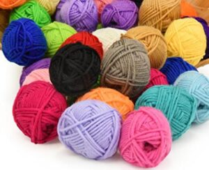 soft acrylic yarn