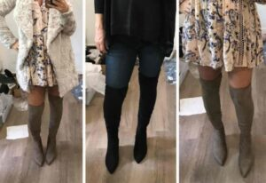 how to wear with pointy flats with cold weather socks