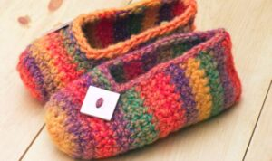 rainbow socks pattern