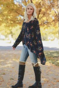 long knee high riding boots