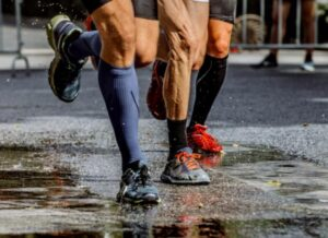 why using compression socks for running