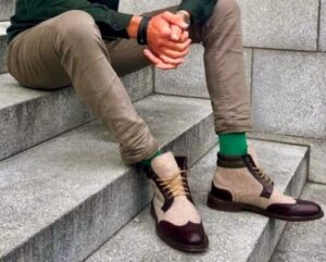 fashion ankle socks with ankle boots