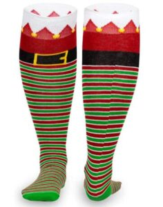 christmas socks with long sock length