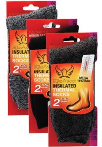 insulated thermal socks for winter