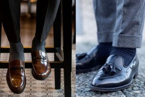 wear loafers with socks