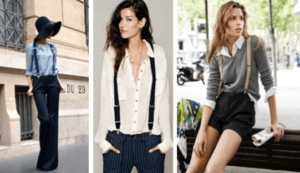 for women how to wear suspenders