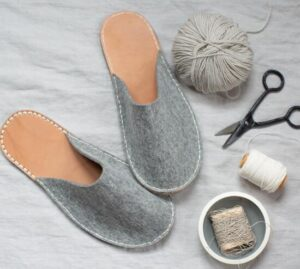 how to make homemade slippers