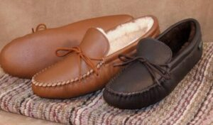 moccasion slippers designed for men and women