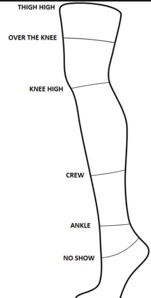 what are the sock lengths