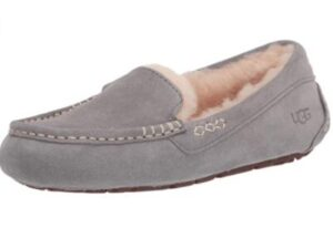 grey ugg slippers womens