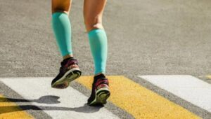 safely use compression socks