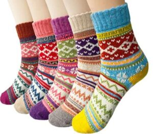 wool ankle socks for boots