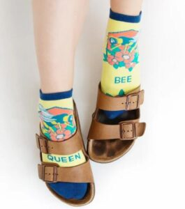 how to wear micro crew socks for sandals
