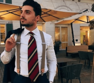wear suspenders for a date