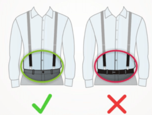 what to know on wear suspenders with belt