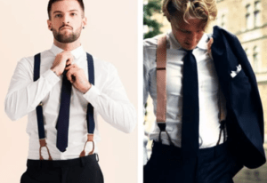 suspenders with shirt