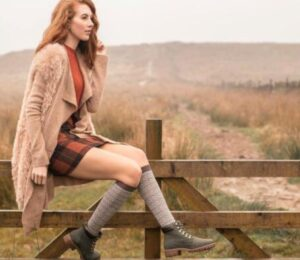 knee high socks for leather ankle boots