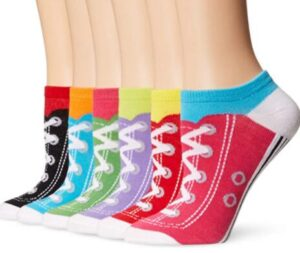 socks with shoe patterns