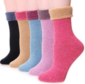 winter socks for ankle boots
