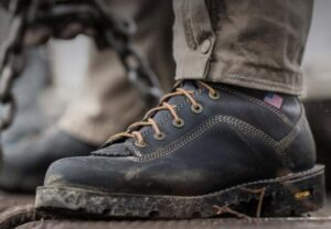 leather work boots made in usa