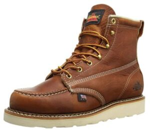 pull on work boots made in usa