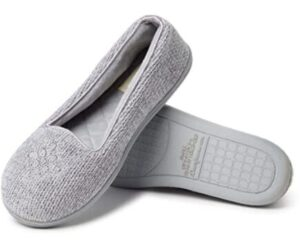 grey slippers for sore feet