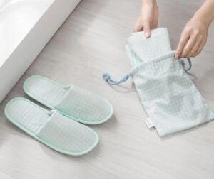 lightweight travel slippers on the go
