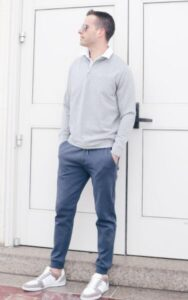 wear jogger with hoodies